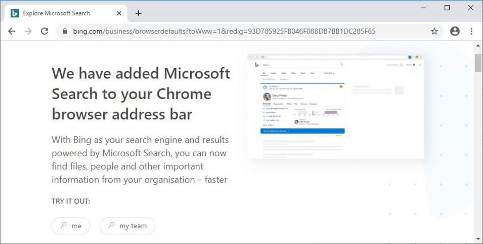 Microsoft extension